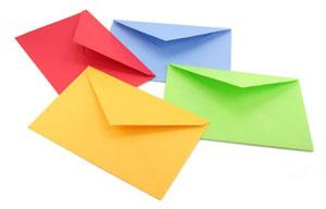 Какие конверты используются для работы на конвертовальной машине?